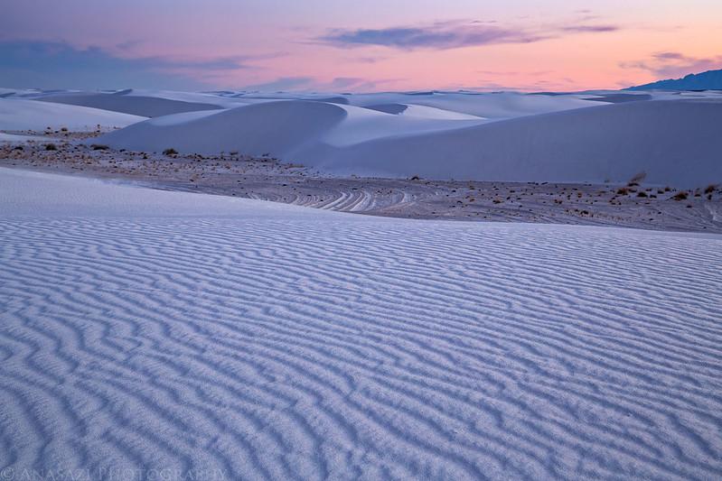 White Sands Colors