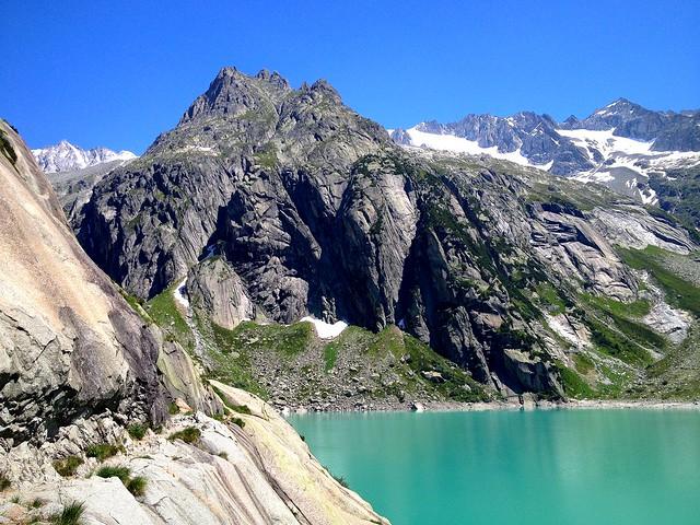 Lake Gelmer, Switzerland