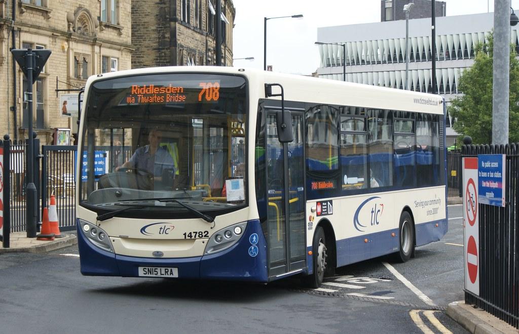 TLC 14782 SN15LRA | TLC 14782 SN15LRA seen at Keighley bus s… | Flickr