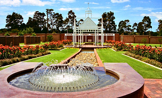 Oct 1995 - Australian military Garden of Remembrance, Rookwood Cemetery, Sydney, New South Wales, Australia