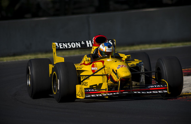 James French in the Jordan 197