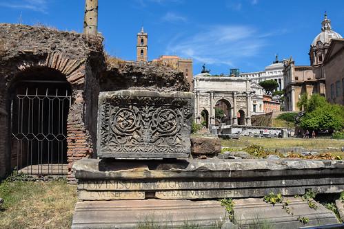 Forum Romanum, Rome   by Maria Eklind