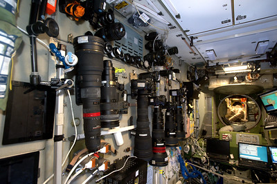 Cameras on the International Space Station