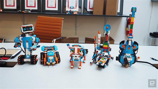New Lego 'Boost' Robotics System!