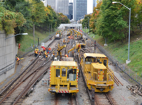 replacing the subway tracks | by mcfcrandall