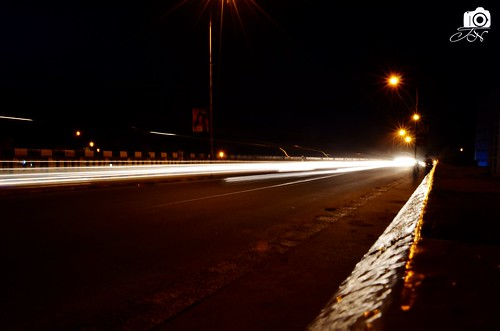 bridge water night sunrise river photography nikon 1855mm madurai longexposue d7000 koripalayam