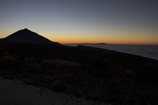Sunset from Teide