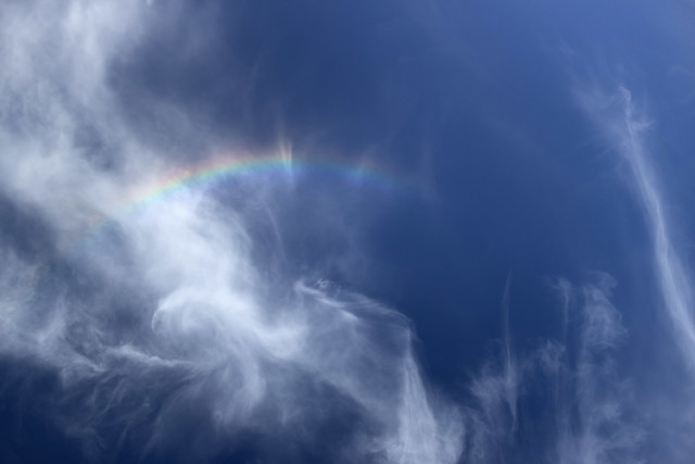 Circumzenithal arc observed in White County, Tennessee