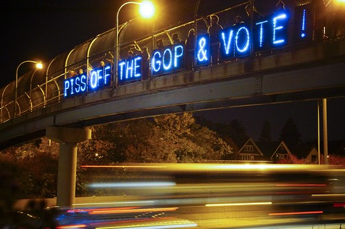 Side View | by Overpass Light Brigade