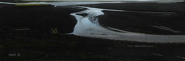 Skeidarársandur desert. Iceland