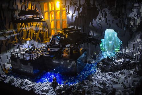 Dark Knight Rises Batcave