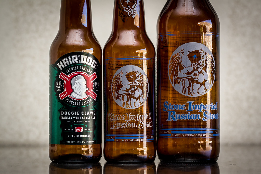 Hair of the Dog and Stone Brewing Beers   Four Brewers   Flickr