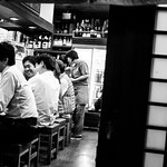 28mm candid:Shinbashi moment III