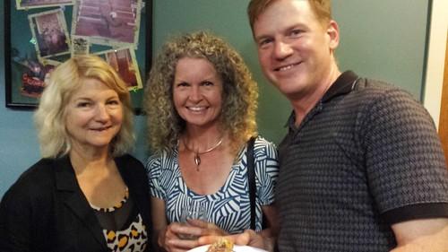Susan Marshall, Diana Moxon, Tom O_Connor