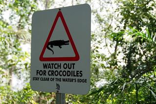 sungei buloh - crocodile sign | by salazar62