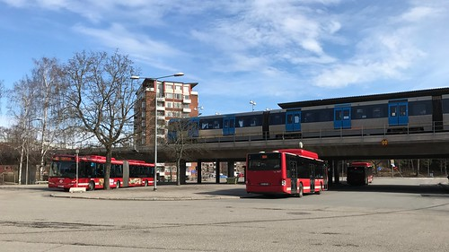 Farsta Bus and Metro Station | by Mister.Marken