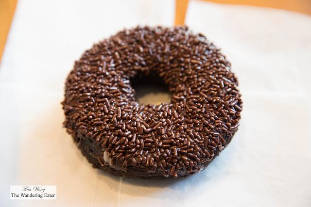 Triple Chocolate Cake Doughnut
