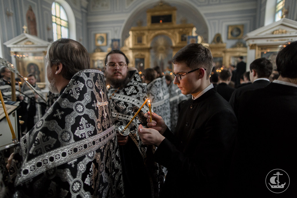 13 апреля 2017, Утреня Великой Пятницы / 13 April 2017, Matins of Holy Friday