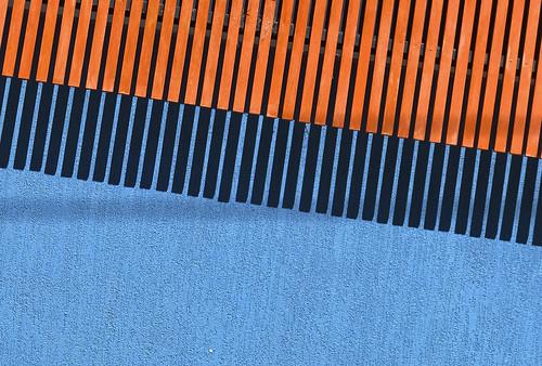 orange blue shadow herveybay parallel