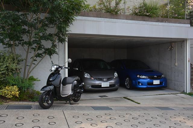 2014/07のガレージの様子