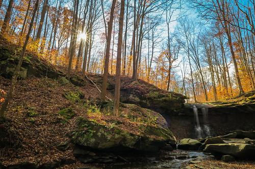 cvnp rjvtog waterfall cuyahogavalley ohio nature landscape bluehenfalls robvaughnphoto