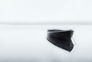 Rowing Boat, Loch Ard | by J McSporran