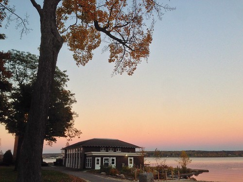 autumn sunset lake water wny chautauqua chautauqualake