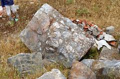 Roman quarry at Karagöl (Teos), Turkey (31): africano