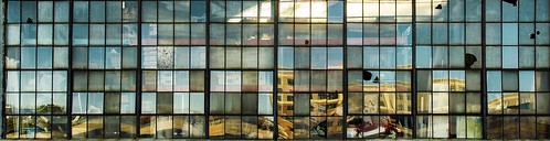 windows steelframe brokenglass glass warehouse old structure history tacphotography tomclarknet panoramic panorama wideaspect