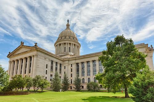 Oklahoma State Capitol (Rear) #1