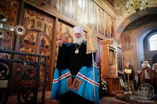 Литургия в Софийском соборе 135