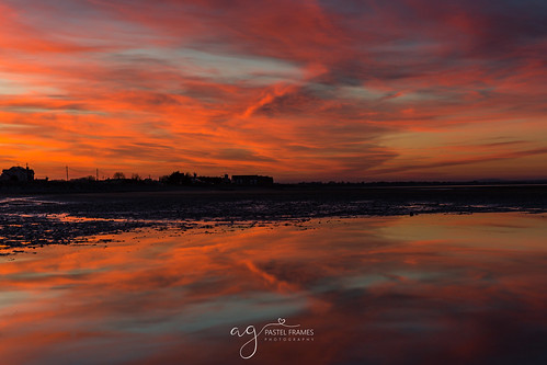 annagassan beach louthireland reflections colours incredible sunset canon5dmark3 canon2470mm landscape seascape photography ireland