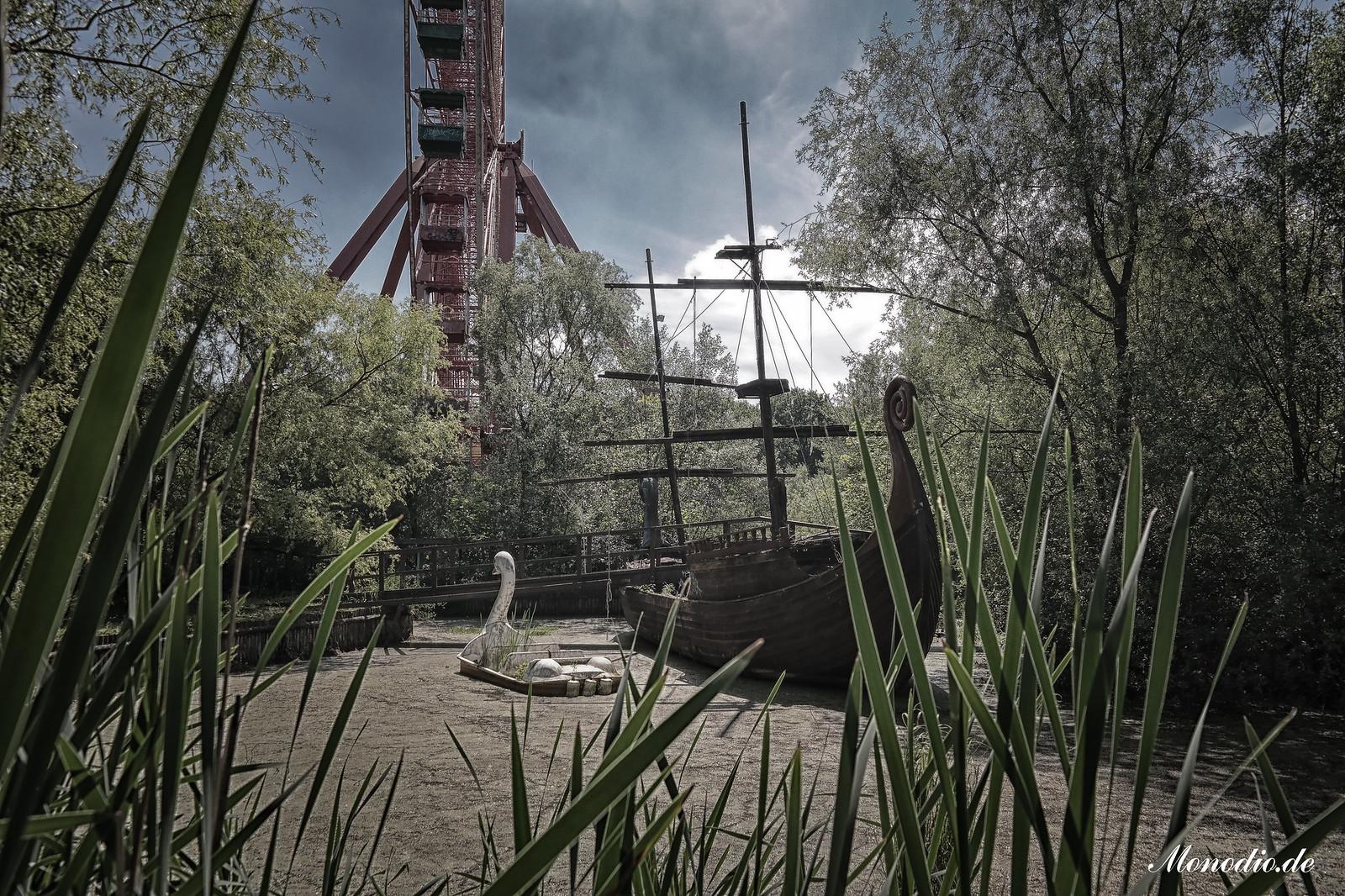 Spreepark, der verlassene Freizeitpark