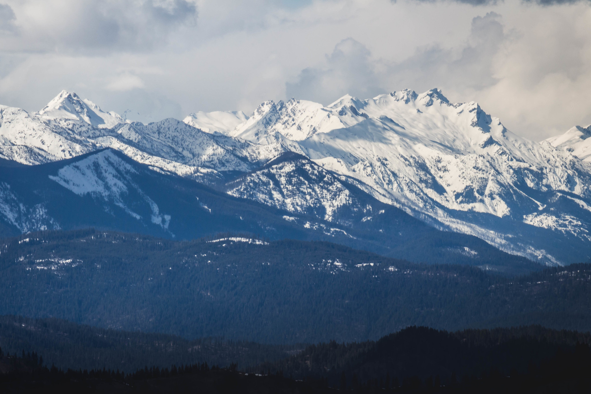 Clark Mountain and Buck Mountain