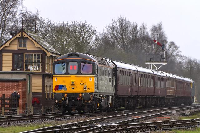 Class 33 No. 33063 R.J. Mitchell