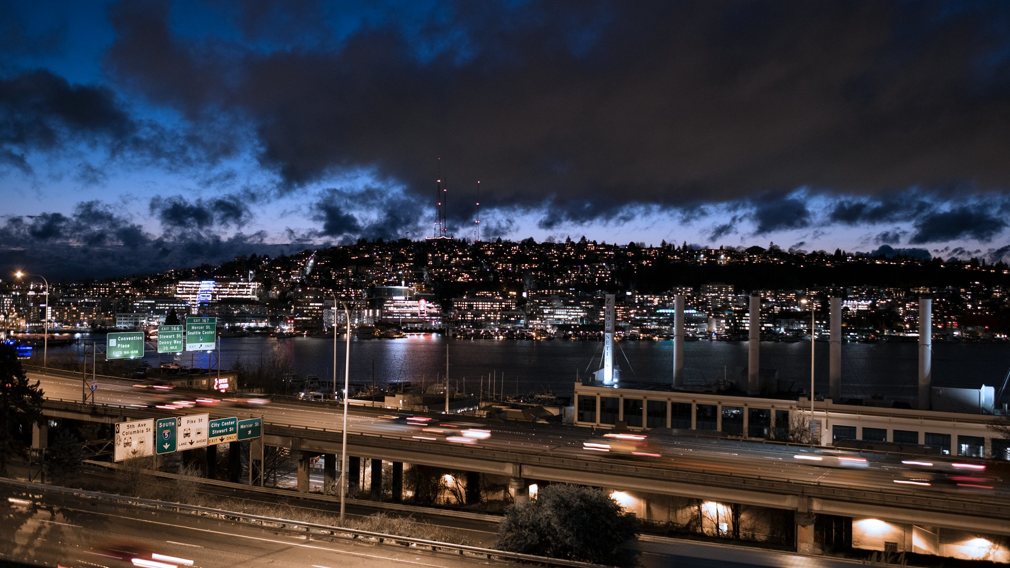 Seattle View from Lakeview Boulevard 1 - Lake Union