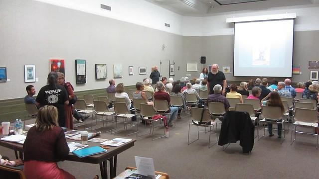 MVI_2692 SCAPE Randall Sexton talk Faulkner Gallery