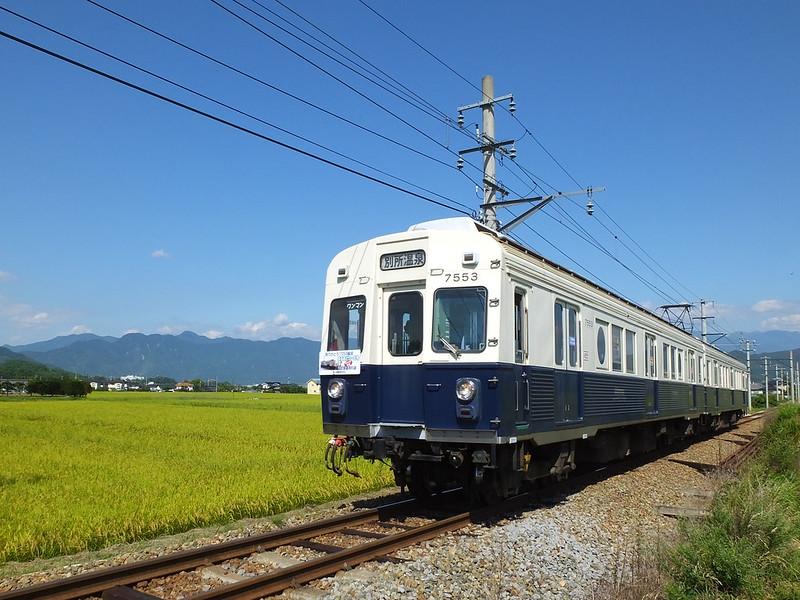 ��c�d�S�ʏ��� Ueda electric railway Bessho line