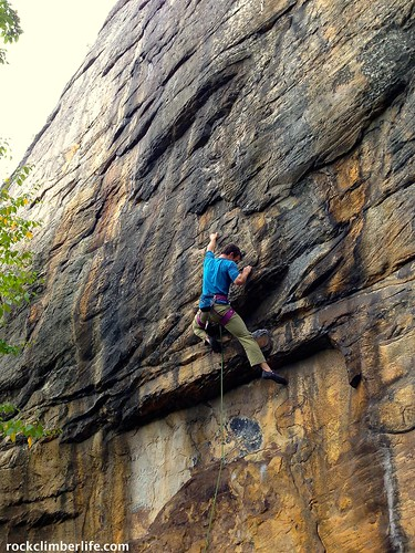Craig on Libertine | by Rock Climber Life