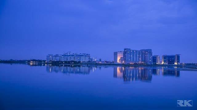 A View from Broken Bridge - Besant Nagar, Chennai