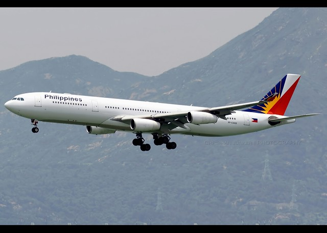 A340-313 | Philippine Airlines | RP-C3438 | HKG