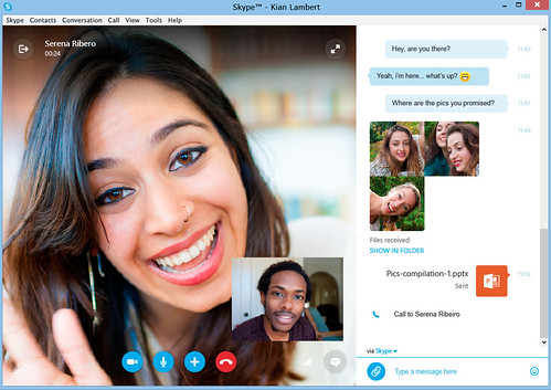 Skype Preview 6.21.85.104 - nowy interfejs | by download.net.pl