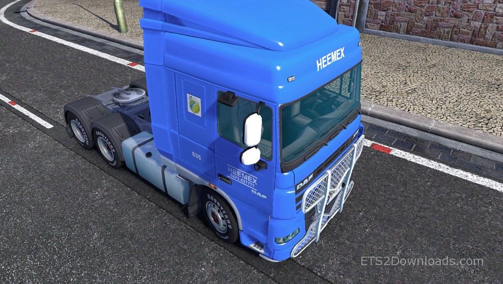 Heemex Skin for DAF | Upload via Download Euro Truck Simulat… | Flickr