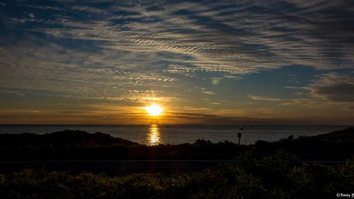 ocean sunrise sony longisland montauk