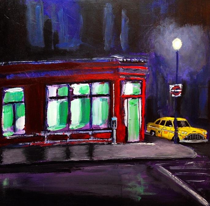 New York City Cab in Waiting, Original
