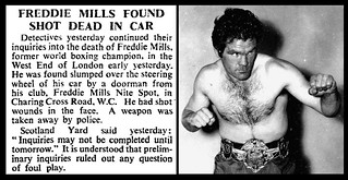 24th July 1965 - Death of Freddie Mills | by Bradford Timeline