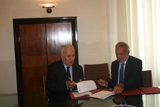 Firma Accordo Quadro CNR Futuridea   by futuridea
