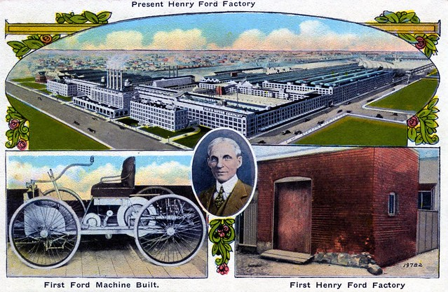 Present Henry Ford Factory Dearborn MI