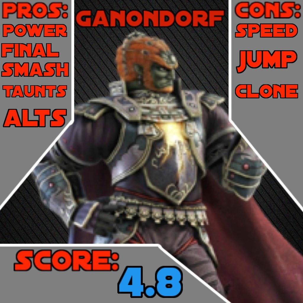 Super Smash Bros 4 Character Reviews Ganondorf The Demon