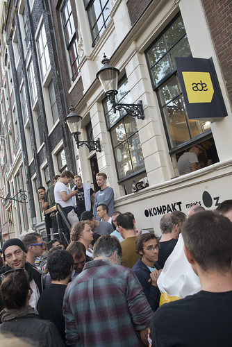 Get in line // Kompakt Pop Up ADE 2014 | by Merlijn Hoek